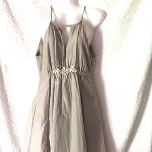 Silver body central party dress size medium